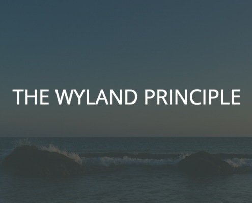 The Wyland Principle