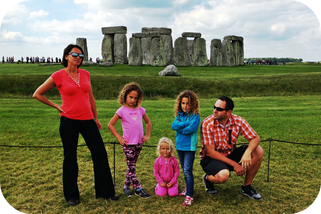 Stonehenge Album Cover Family Rocketship