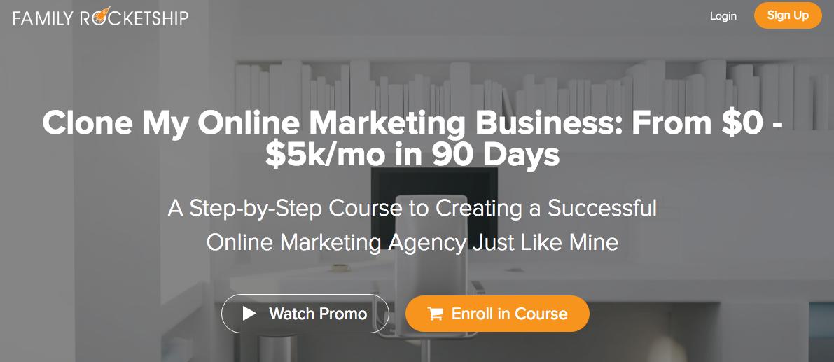 Digital Marketing Agency Family Rocketship