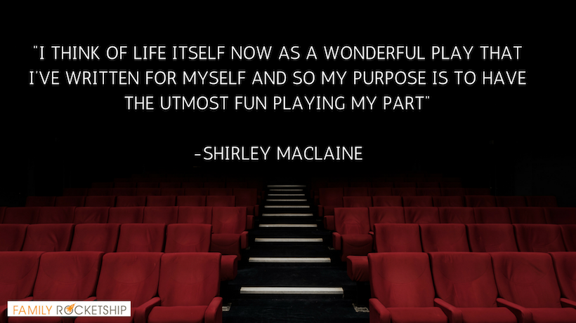 PLAY SHIRLEY MACCLAINE